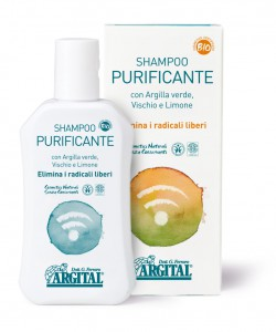 Cleaner, stronger and more nourished hair with Argital Purifying Shampoo