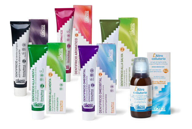 A natural and gentle oral hygiene with Argital products